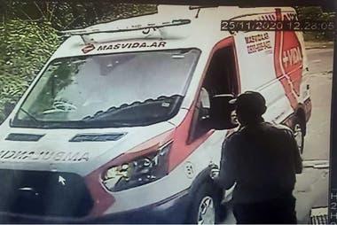 La primera ambulancia llegará el 25 de noviembre a las 12:28 p.m.