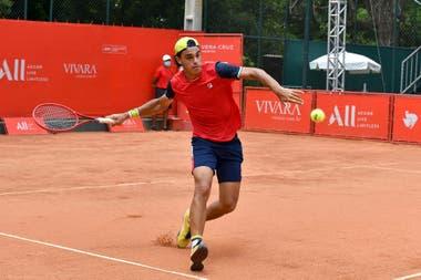 Diestro, de 1,83 metro y de 22 años, Francisco Cerúndolo es uno de los jóvenes tenistas argentinos que luchan por ingresar y consolidarse en el Top 100.