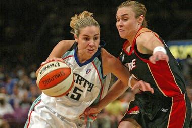 Becky Hammon, como jugadora de New York Liberty