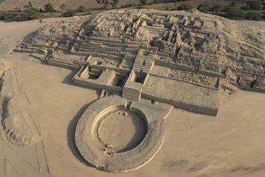 La Unesco declaró Patrimonio Mundial de la Humanidad a la zona arqueológica de Caral en 2009.