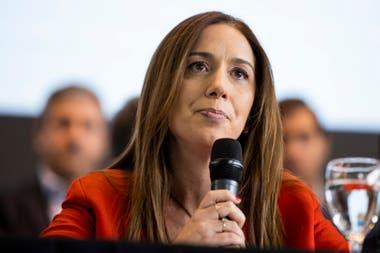 El bajo perfil de María Eugenia Vidal parece darle resultado
