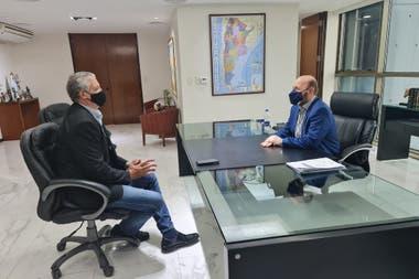 Tras reunirse con Gildo Insfrán, el secretario de Derechos Humanos de la Nación, Horacio Pietragalla, minimizó las denuncias y respaldó al gobierno de Formosa