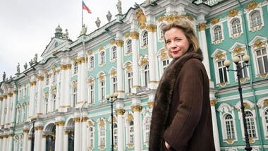 Lucy Worsley, presentadora de Empire of the Tsars