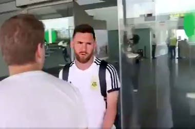 Messi llego a Barcelona