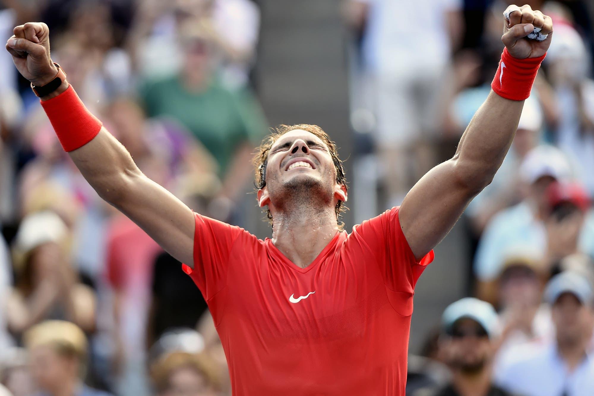 Insaciable: Rafael Nadal ganó el Masters 1000 de Toronto y llegó a los 80 títulos en su carrera