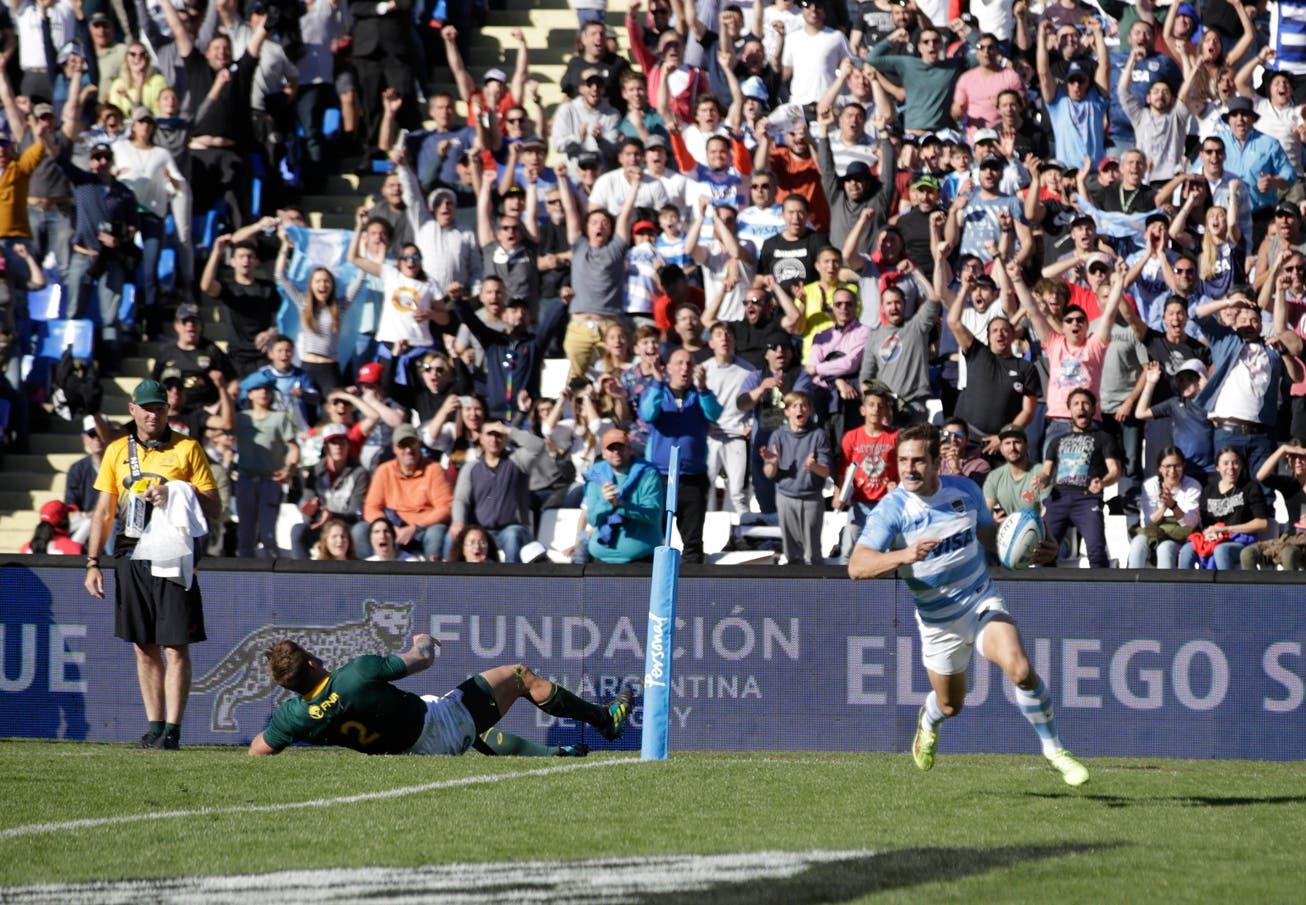 Rugby Championship: los tries de los Pumas y las mejores jugadas de la victoria ante los Springboks