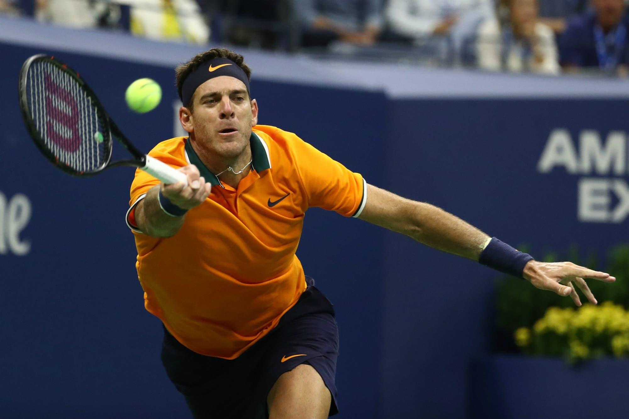 Juan Martín del Potro se presentó en Pekín con una victoria en dobles y mañana debuta en singles