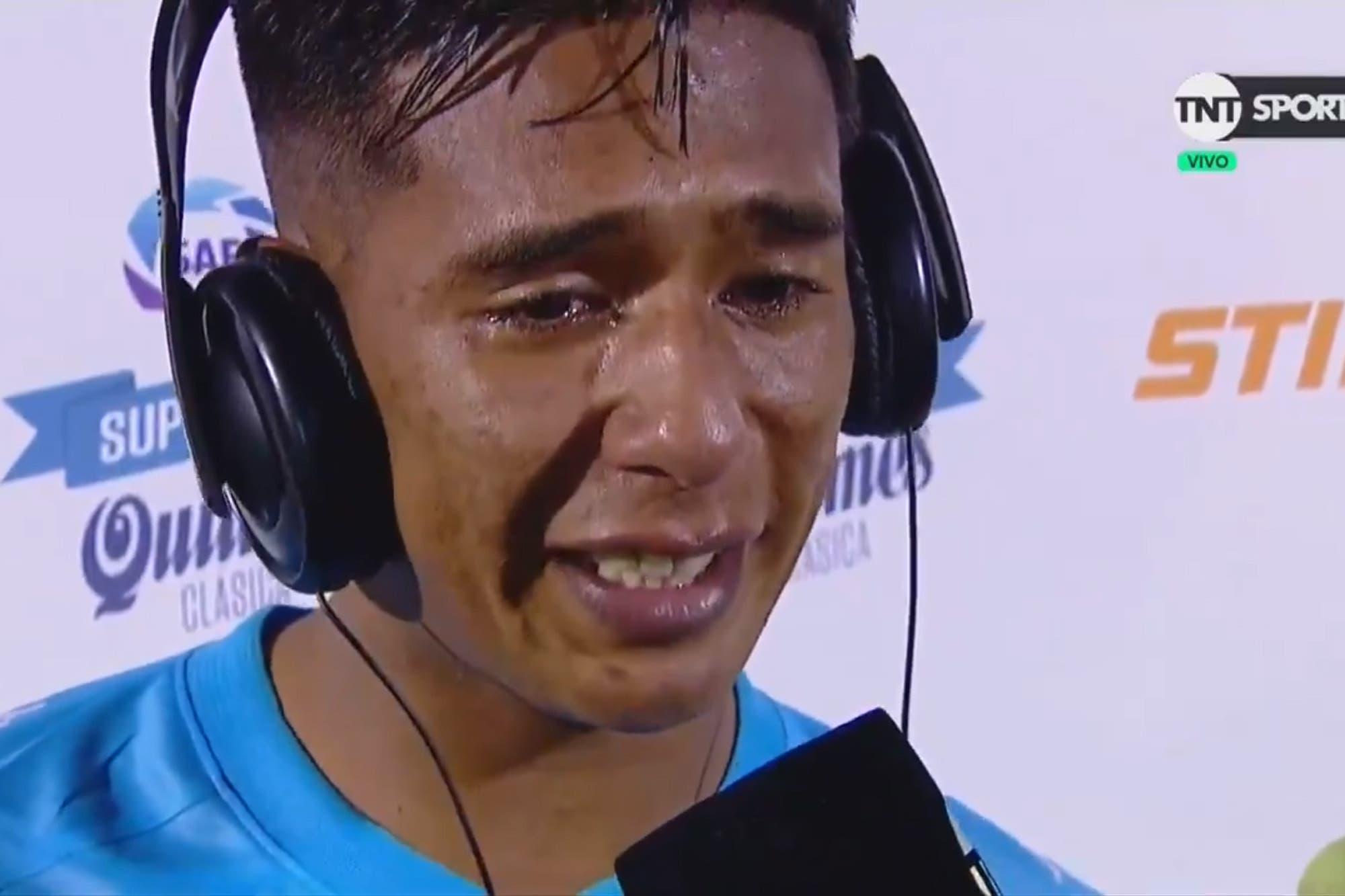 Racing campeón. El emotivo desahogo de Matías Zaracho, en una semana que nunca olvidará