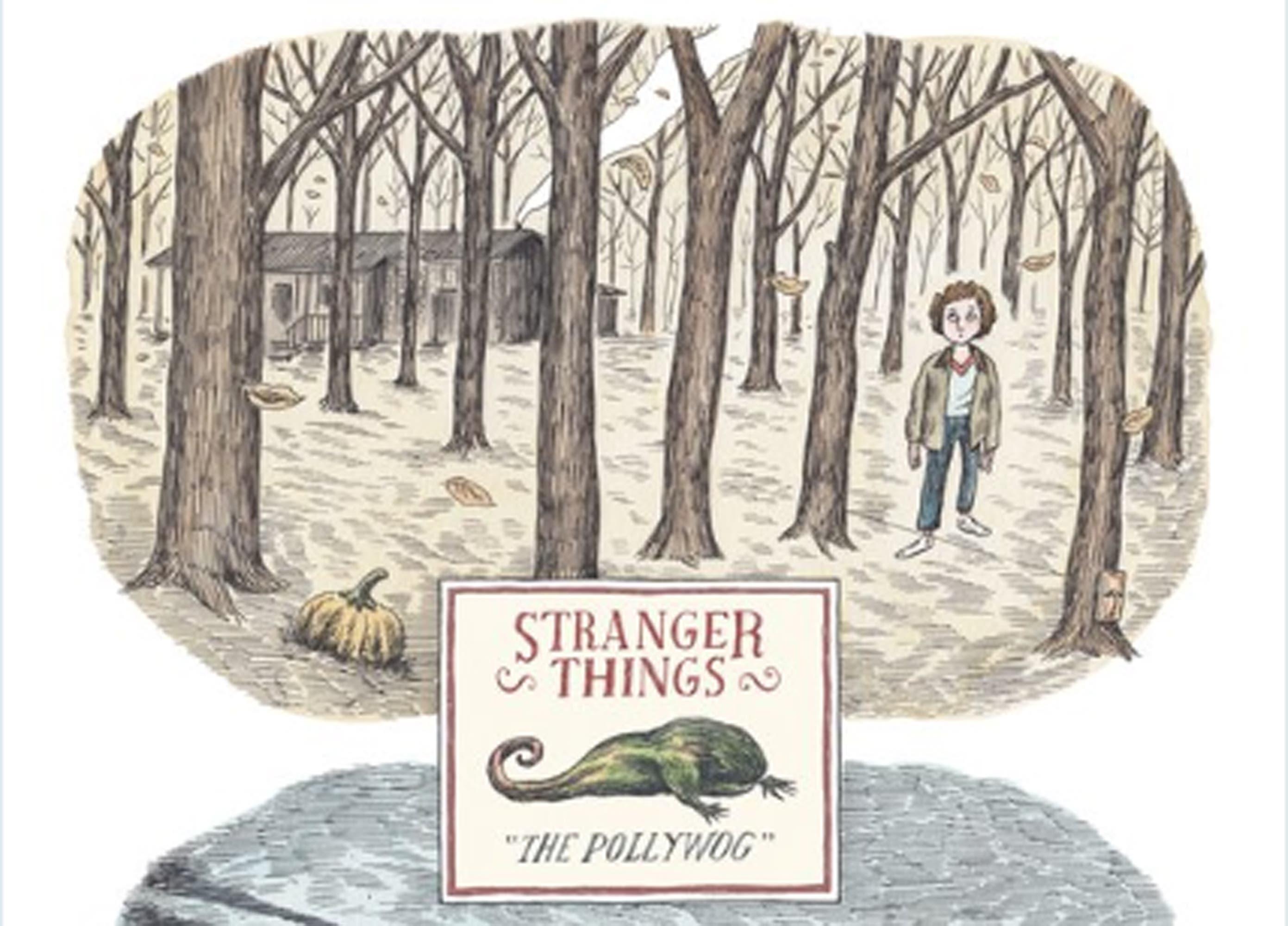 El dibujante argentino Liniers diseñó el nuevo poster de la serie Strangers Things