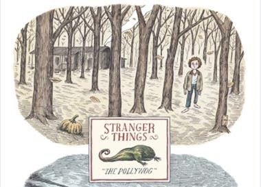 ca65f2d5b4 El dibujante argentino Liniers diseñó el nuevo poster de la serie Strangers  Things