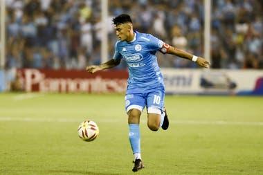 Matías Suárez en su paso por Belgrano