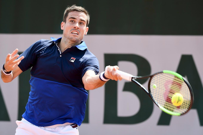 Roland Garros: Guido Pella venció a Andreozzi y es el cuarto argentino en la segunda rueda