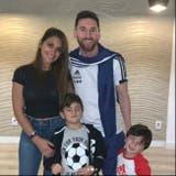 Con la familia en Brasil: otro cumpleaños de Messi en la selección