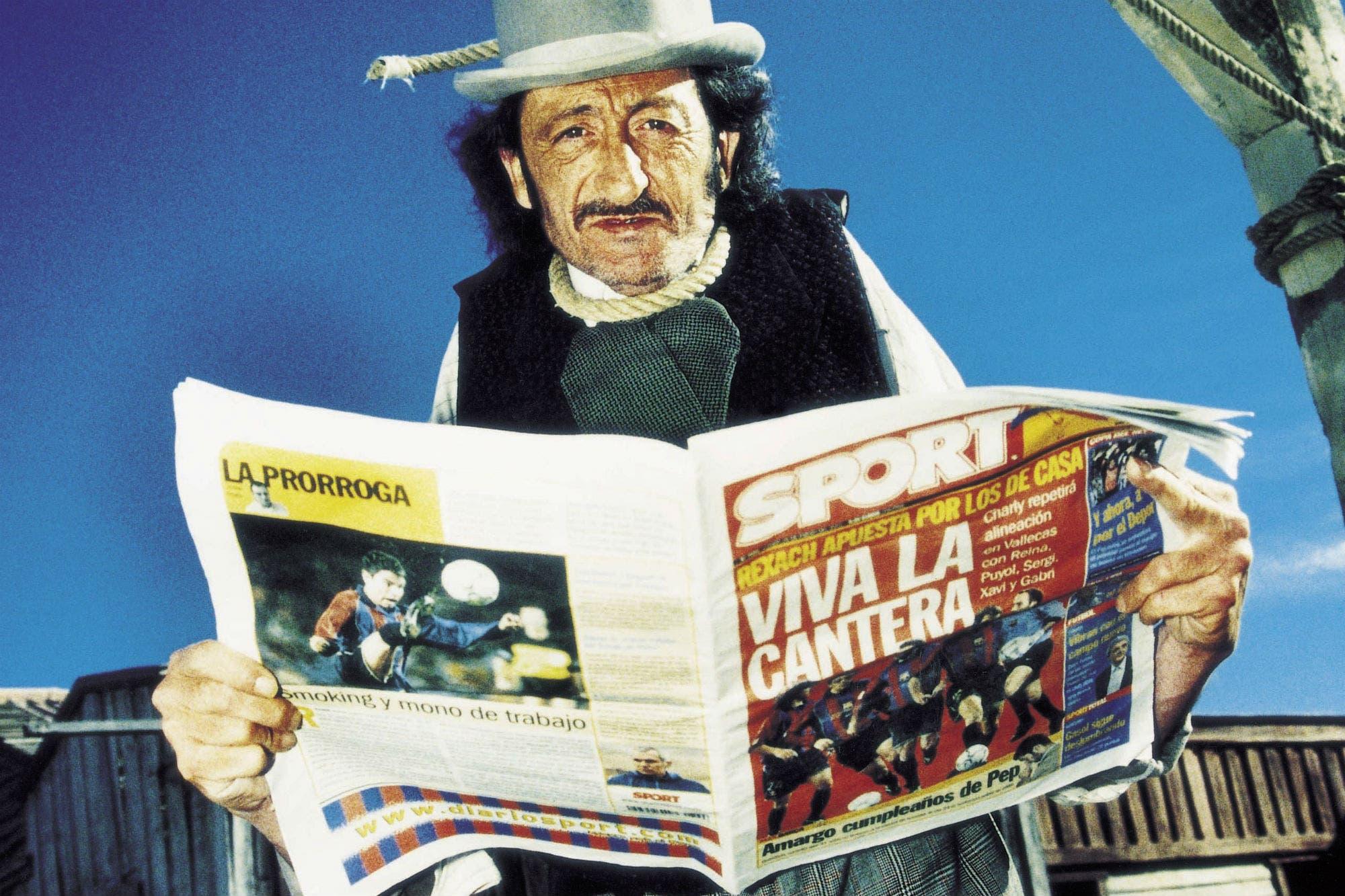 Murió el actor español de 800 balas y Aquí no hay quien viva, Eduardo Gómez
