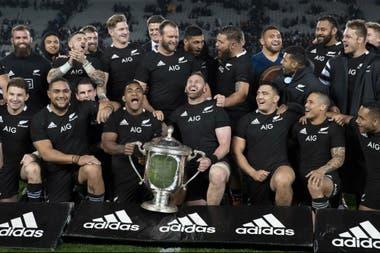 Los All Blacks y una nueva conquista de la Bledisloe Cup