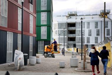 Algunas zonas de la urbanización de la Villa 31 siguen en obras