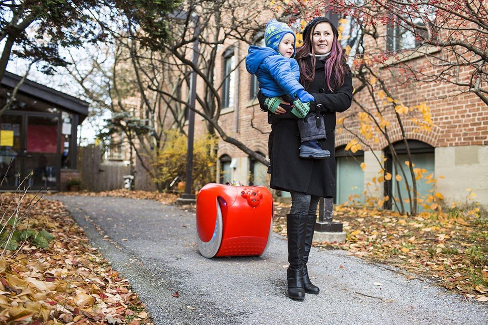 Este es Gita, el robot que te lleva las compras del supermercado por 3250 dólares