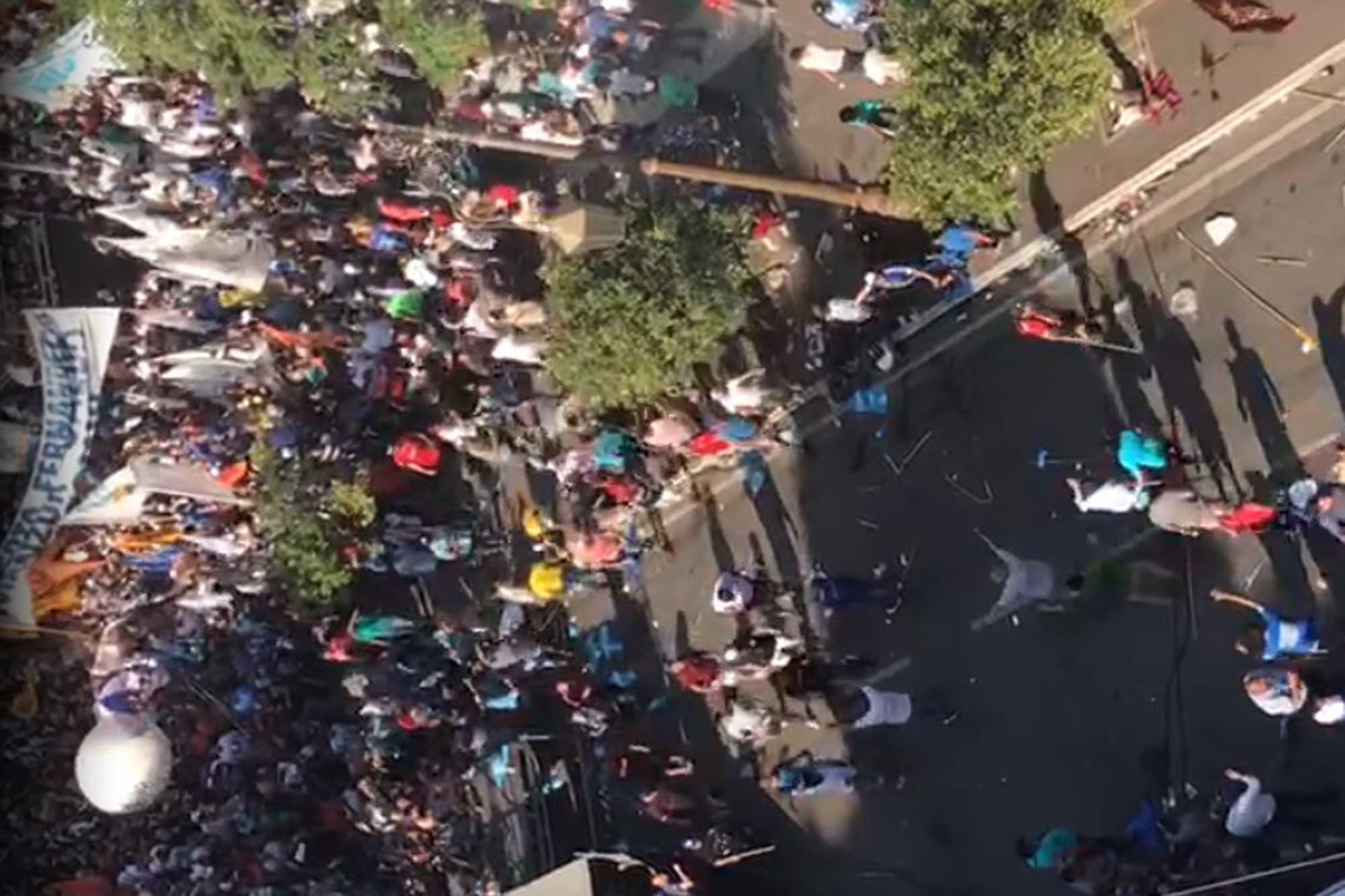 Tucumán: batalla campal en el cierre de campaña de Frente de Todos convocado por Juan Manzur