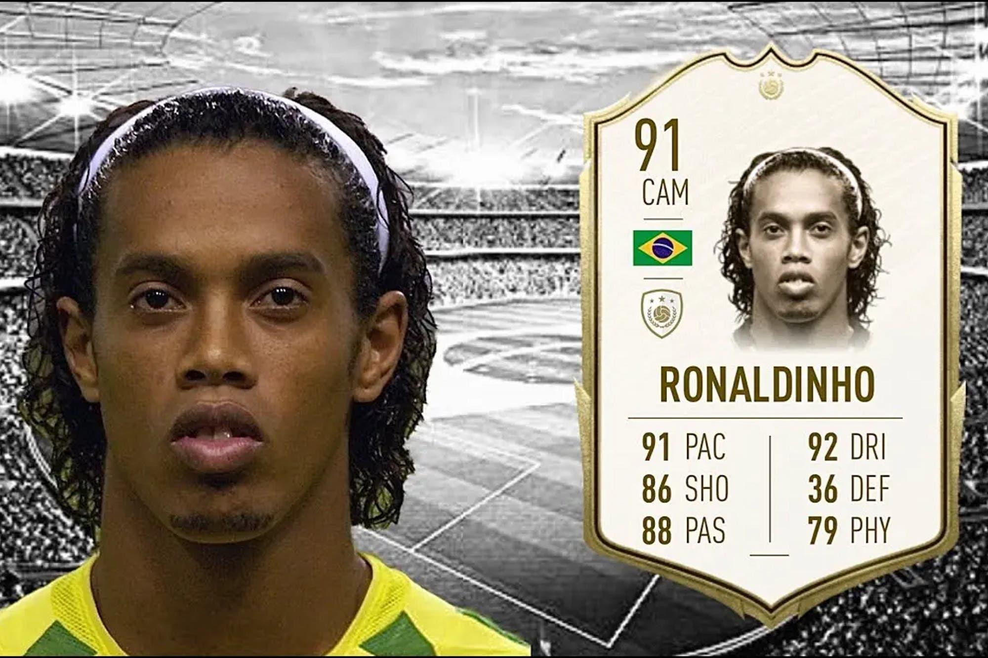 ¿Serían capaces? EA Sports piensa eliminar a Ronaldinho del FIFA 20 por su detención en Paraguay
