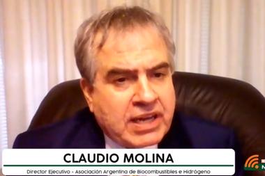 Caludio Molina, director ejecutivo de la Asociación Argentina de Biocombustibles e Hidrógeno