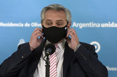 El presidente Alberto Fernández anunció ayer que comenzará la producción de la vacuna de Astrazeneca contra el coronavirus en la Argentina