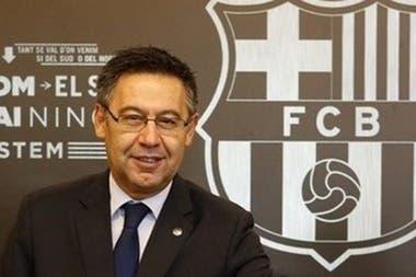 Josep Bartomeu confirmó que Ronald Koeman será el nuevo entrenador de Barcelona