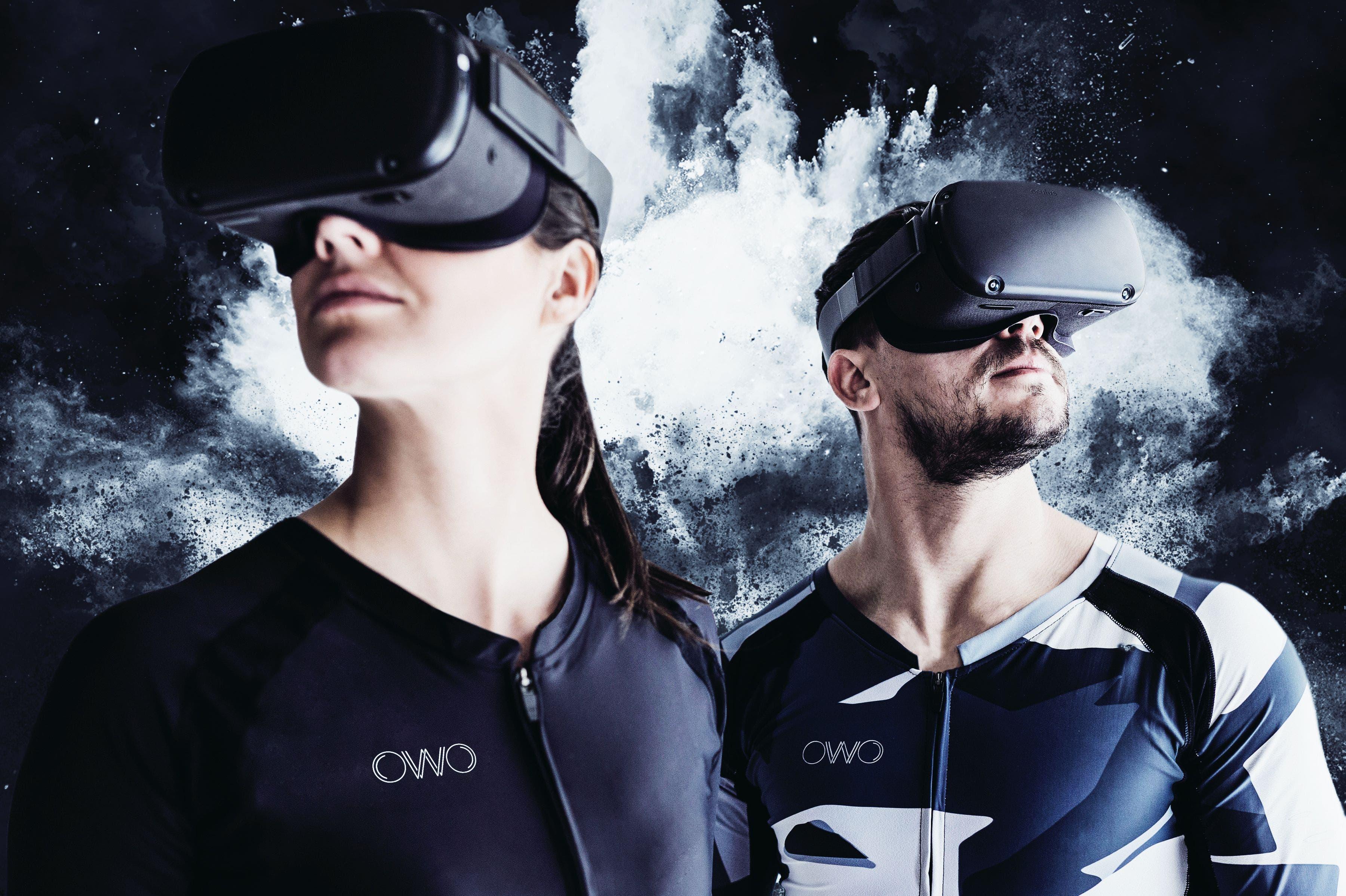 Owo, la remera que te permite sentir un videojuego en el pecho