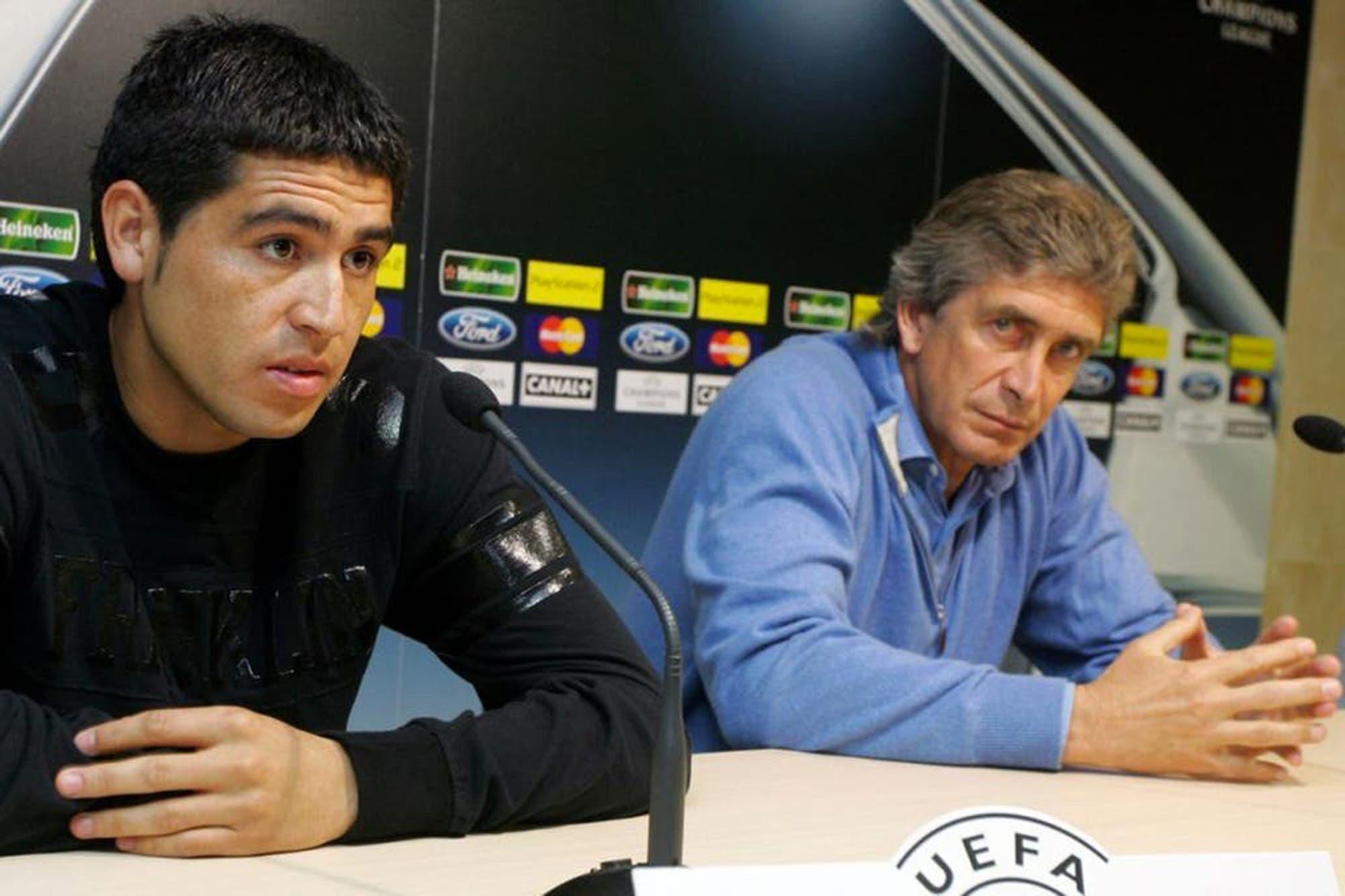 Manuel Pellegrini y su discusión con Juan Román Riquelme: el DT contó lo que sucedió en Villarreal