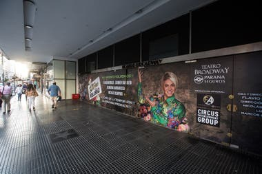 En el teatro Broadway Flavio Mendoza podrá disponer 450 butacas de las 1500 con las que cuenta la sala