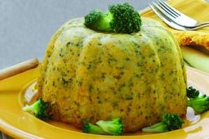 Budincitos de calabaza y brócoli