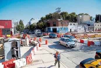 Más conexiones viales para circular en auto por Palermo