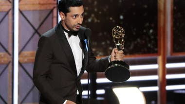 Riz Ahmed se llevó el premio a mejor actor protagónico en mini serie, por su trabajo en The night of