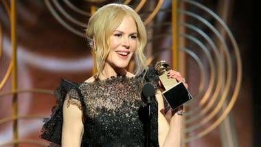 Nicole Kidman, ganadora por Big Little Lies