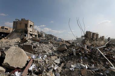 Un centro de investigación científica destruido en Damasco