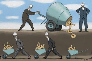 Los sobreprecios de obra pública no serían de entre 10 y 20%, sino superiores; eso es porque había distintas instancias de acuerdo y todos se quedaban con una parte