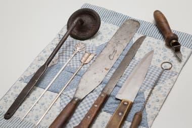 Las herramientas de trabajo de Don Ángel las conserva en perfecto estado
