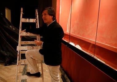 El director Duprat, en recorrido por las obras