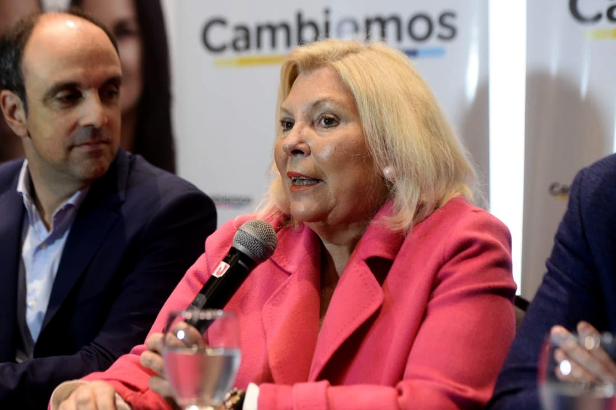"""""""Nunca fue golpista"""", dijo Elisa Carrió sobre Pichetto tras la elección de Macri"""