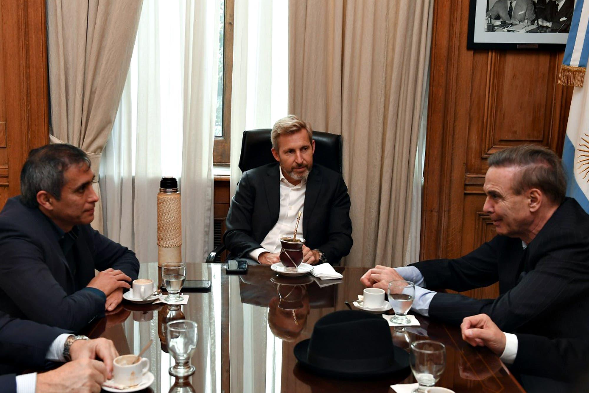 Molestos por el cierre, Pichetto y Frigerio suspenden su gira de campaña