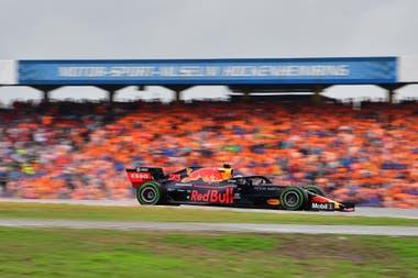 Verstappen, ganador con su Red Bull del Gran Premio de Alemania de Fórmula 1.