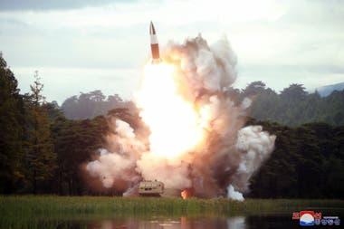 La última prueba de lanzamiento de misiles de Corea del Norte