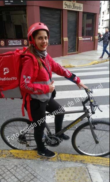 La joven venezolana aseguró que estaba dejando a su hija en la guardería y que no trabaja con ella