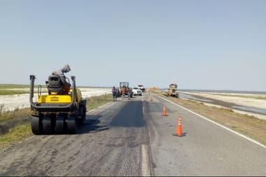La ruta había quedado cortada por el avance del agua de La Picasa