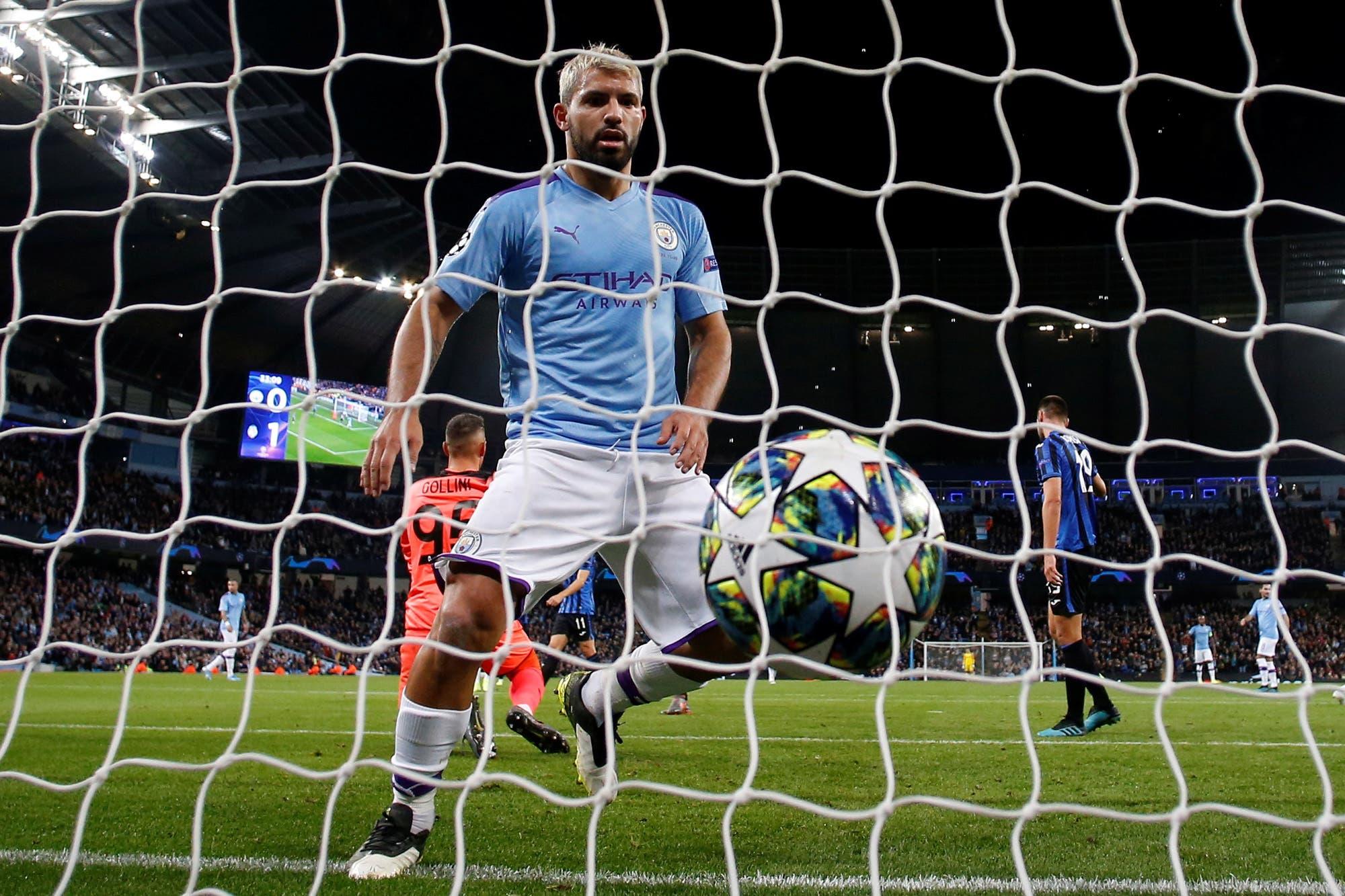 Champions League: un festival argentino con dobletes de Agüero, Icardi y Dybala