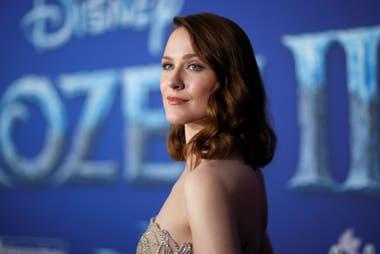 Evan Rachel Wood pone la voz al personaje de Iduna, la enigmática madre de Anna y Elsa, cuya historia se conocerá en Frozen II