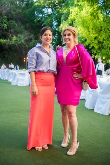 Carminne Dodero y Amalia Amoedo