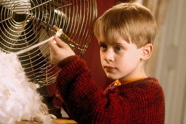 Macaulay Culkin, en una escena de Mi pobre angelito