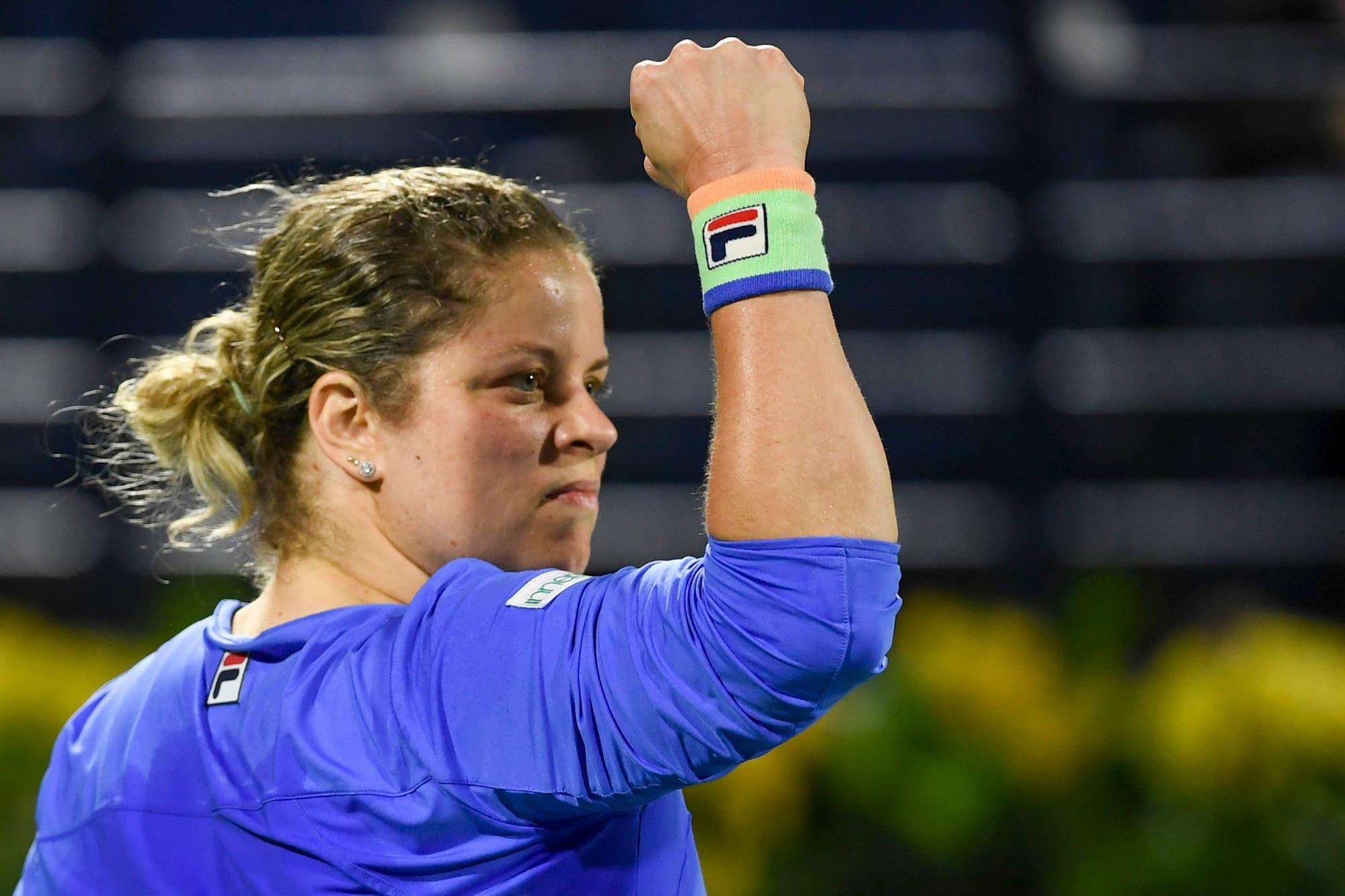 Tenis: la belga Kim Clijsters volvió a jugar después de casi ocho años y maravilló a todos