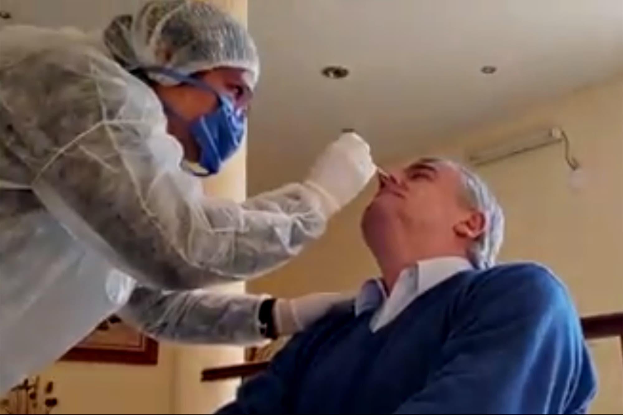 Coronavirus: tras la reunión en Olivos, Gerardo Morales volvió a Jujuy, se puso en cuarentena y se hizo el test