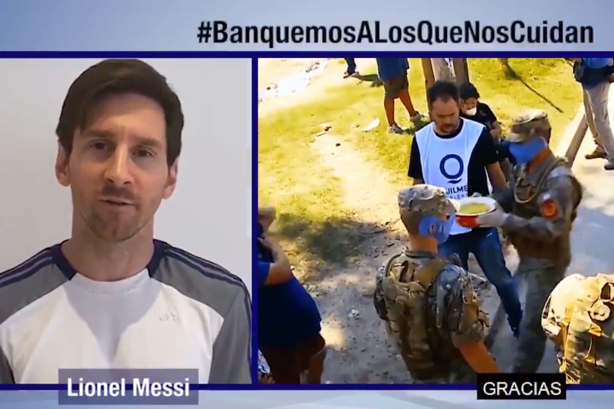 Coronavirus. #BanquemosALosQueNosCuidan, el emocionante mensaje de los deportistas argentinos